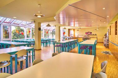 Speisesaal in der ARBERLAND Akademie